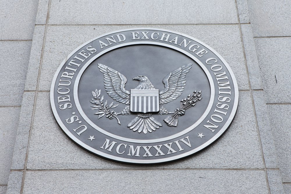 SEC sign on wall
