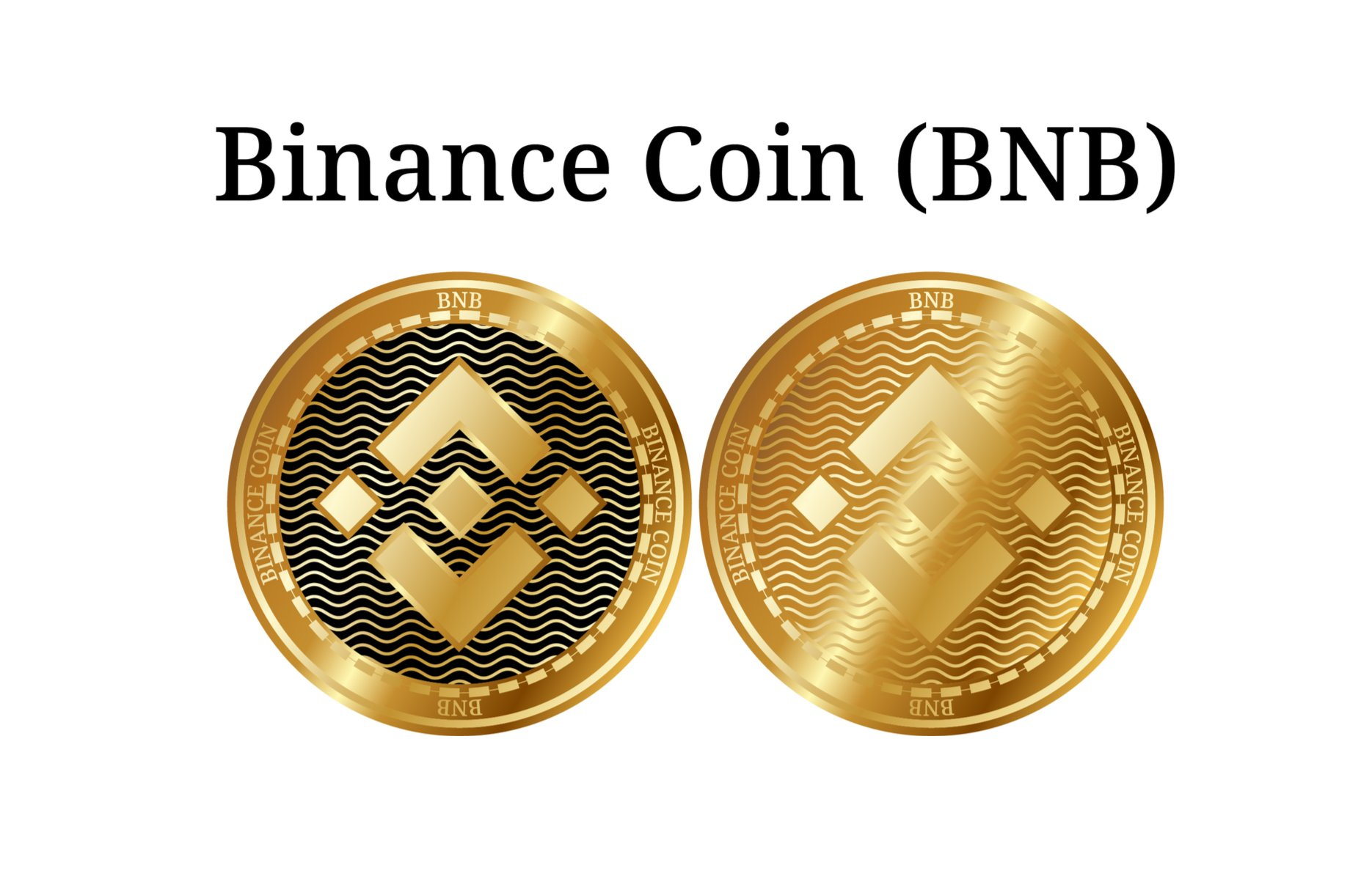 golden binance coins