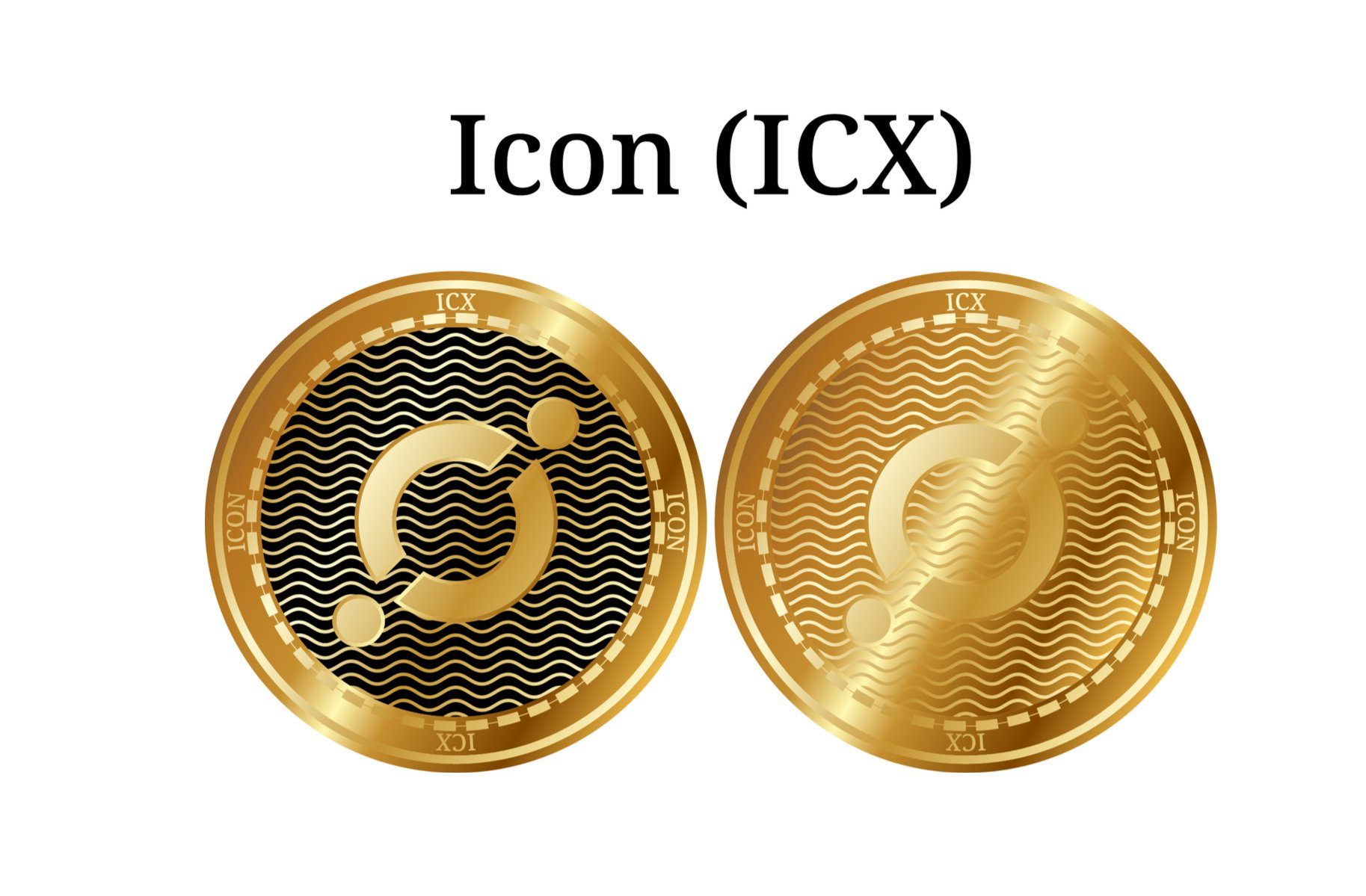 golden ICON coins