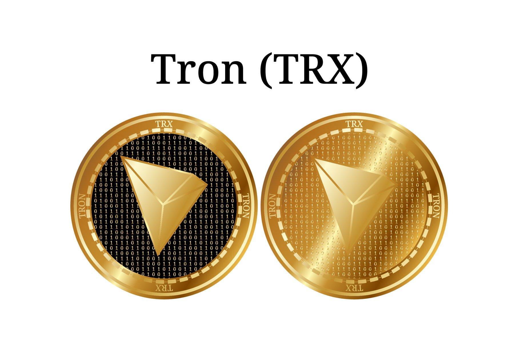 golden Tron coins