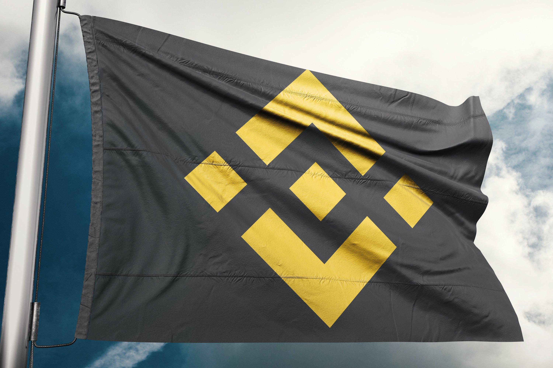 binance flag