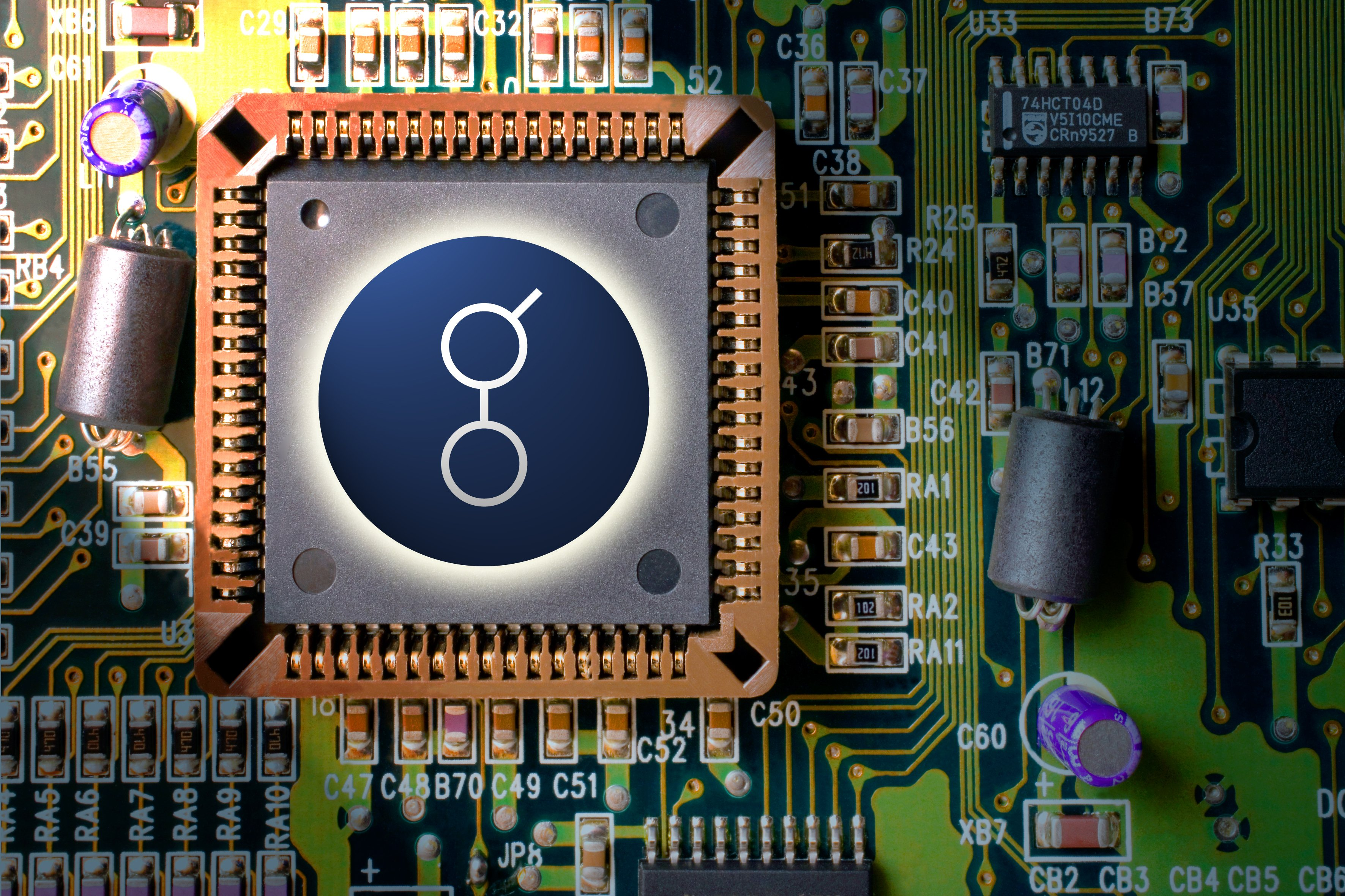 circuit board mining and coin GOLEM GNT
