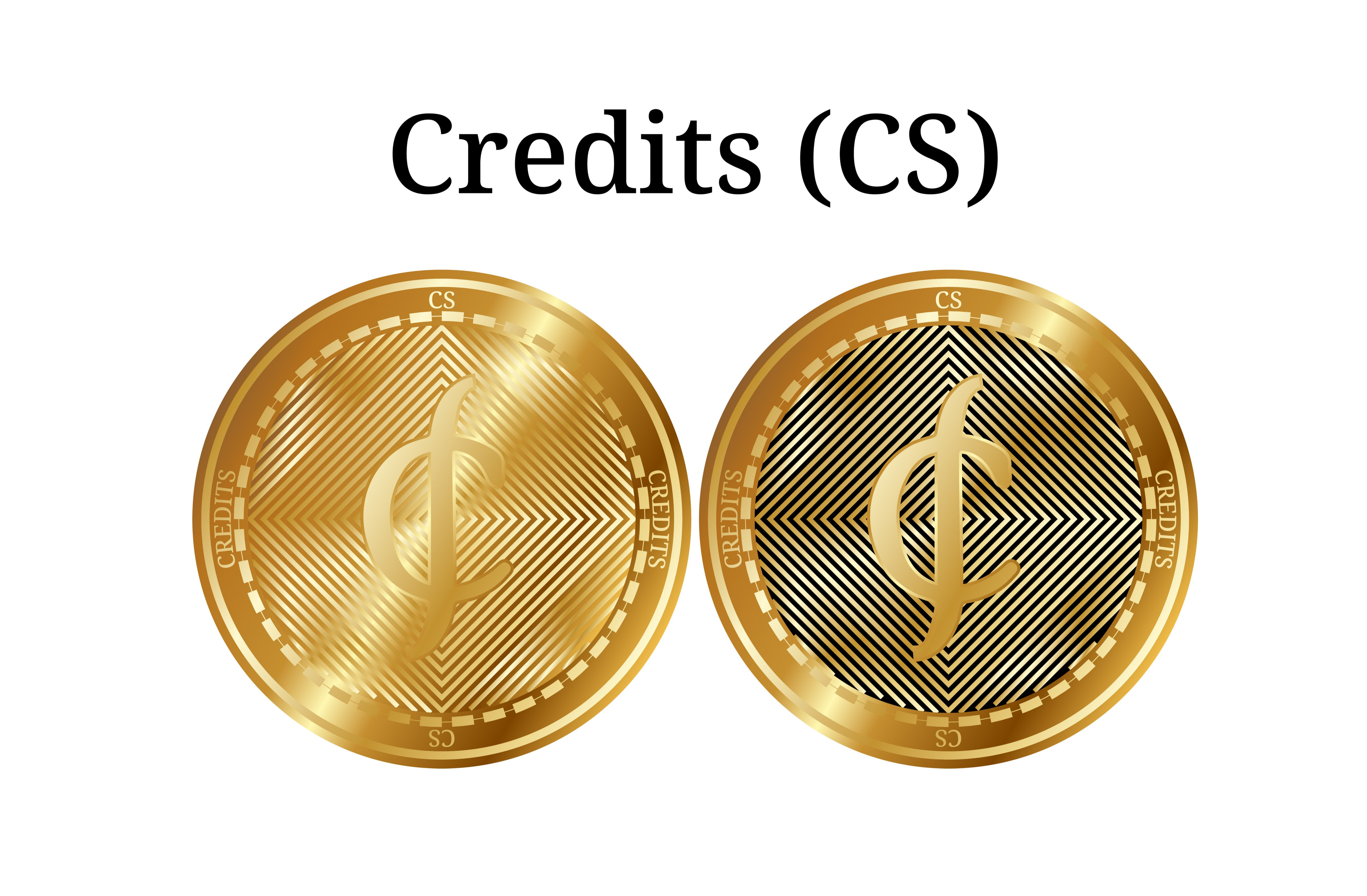 gold Credits coins