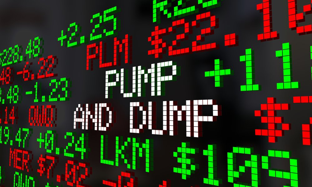 pump and dump concept