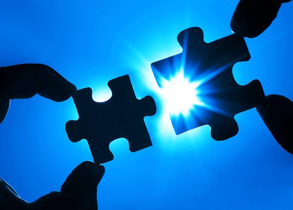 partnership jigsaw concept