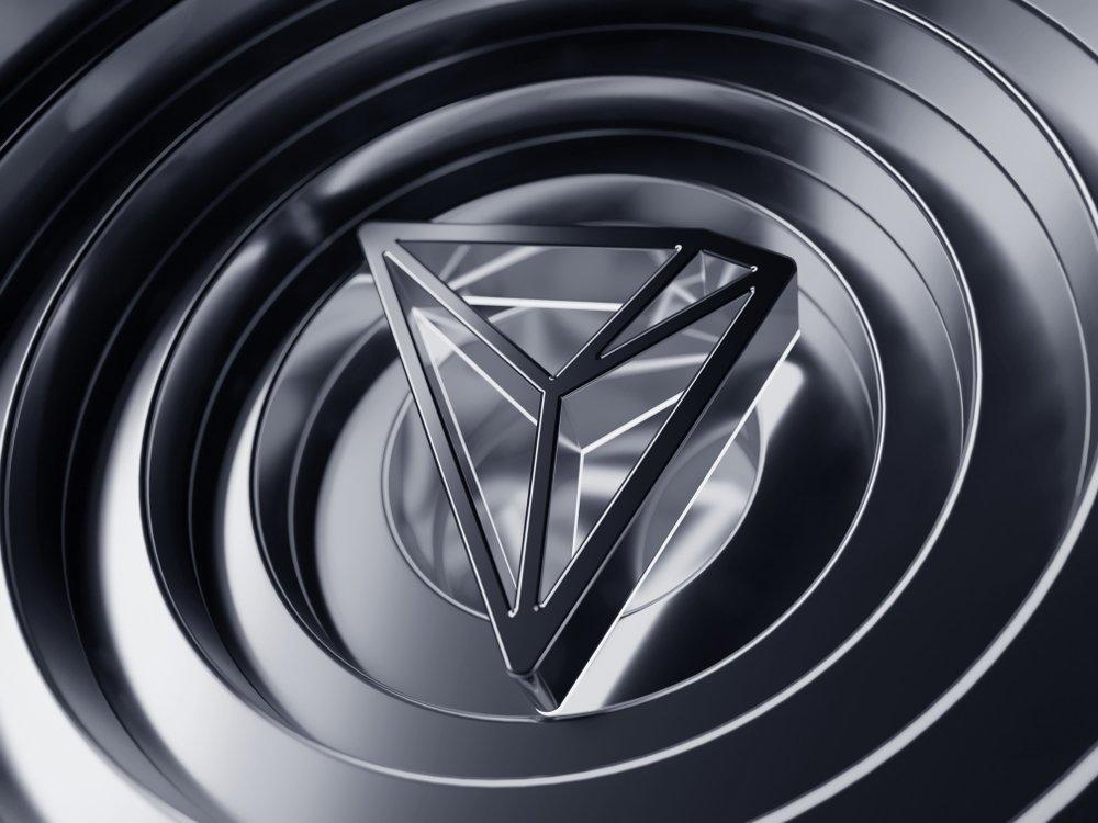 tron symbol on grey rings
