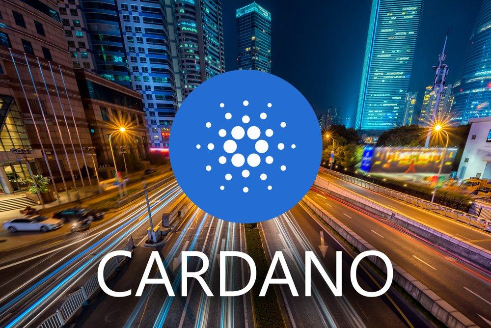 Concept of Cardano coin