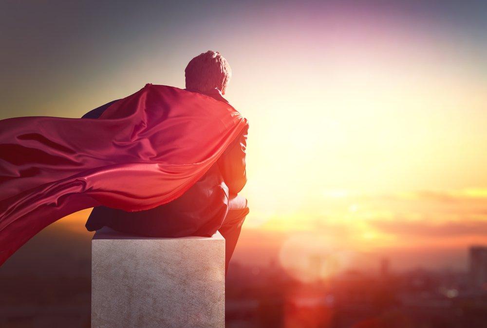 superman businessman