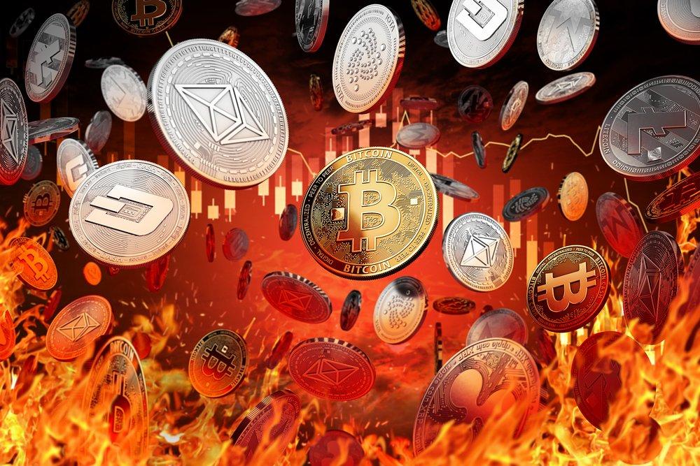 Decline or market crash concept
