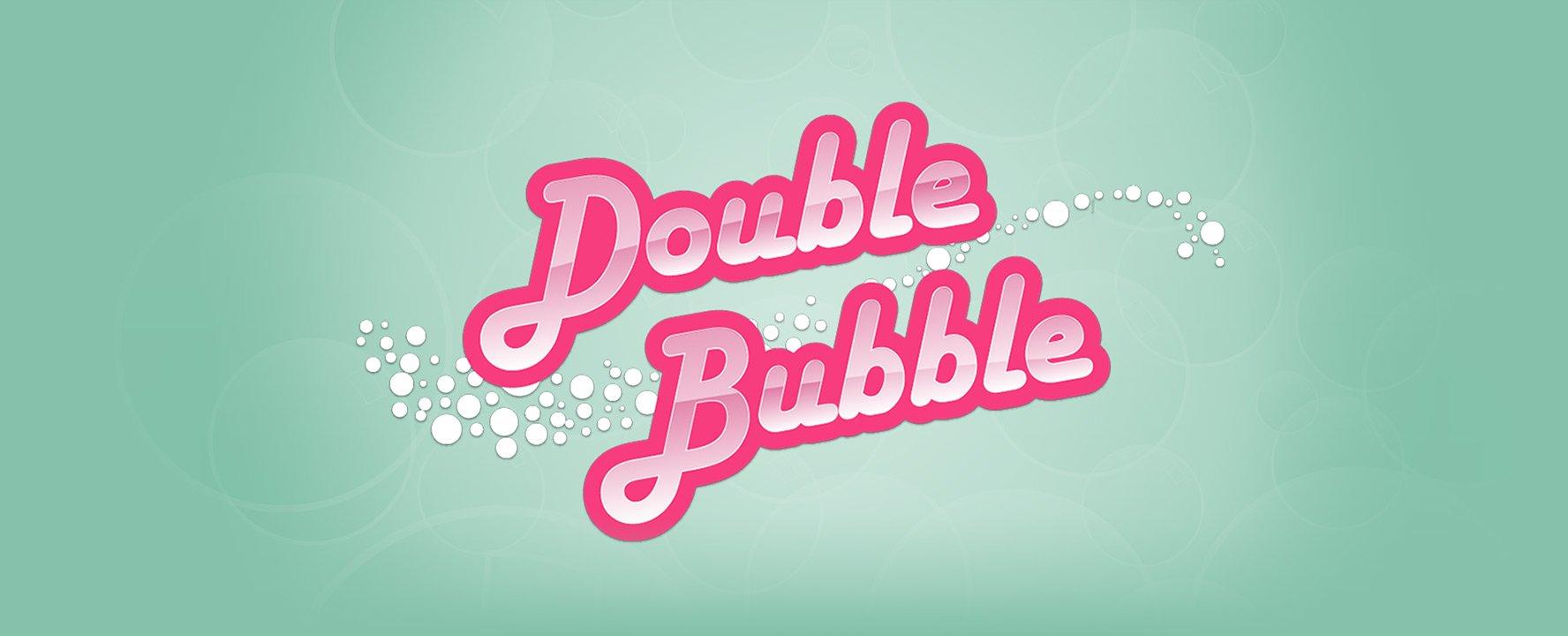 double bubble slot logo