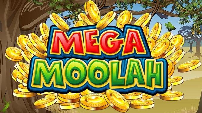 mega moola slot logo