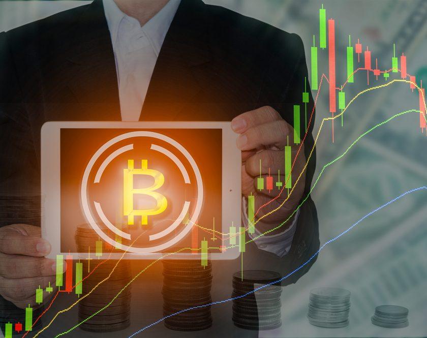 bitcoin crash concept