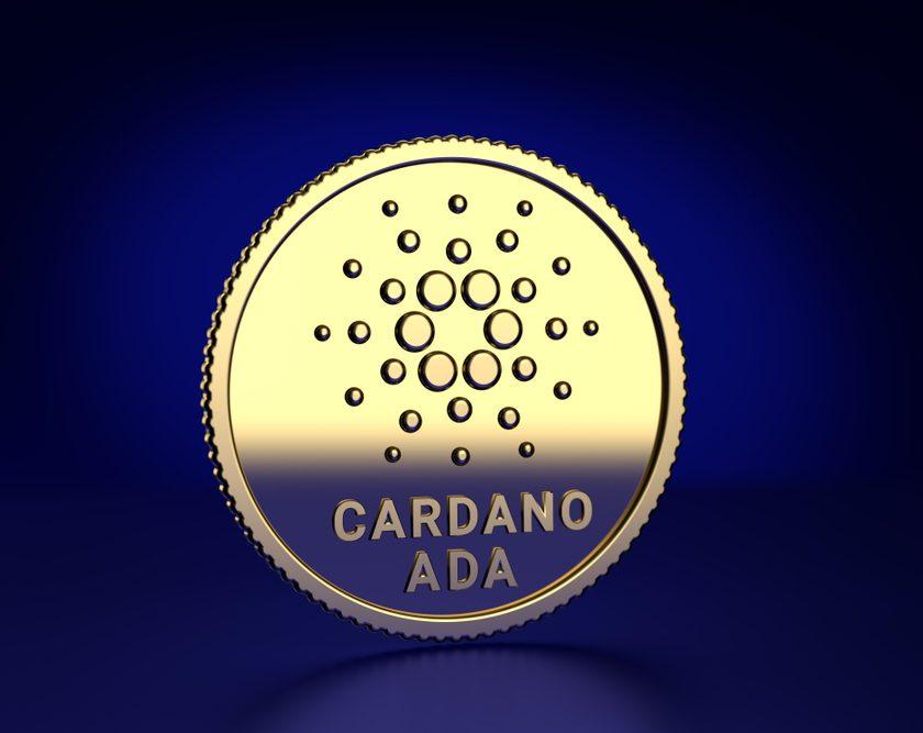 gold cardano coin