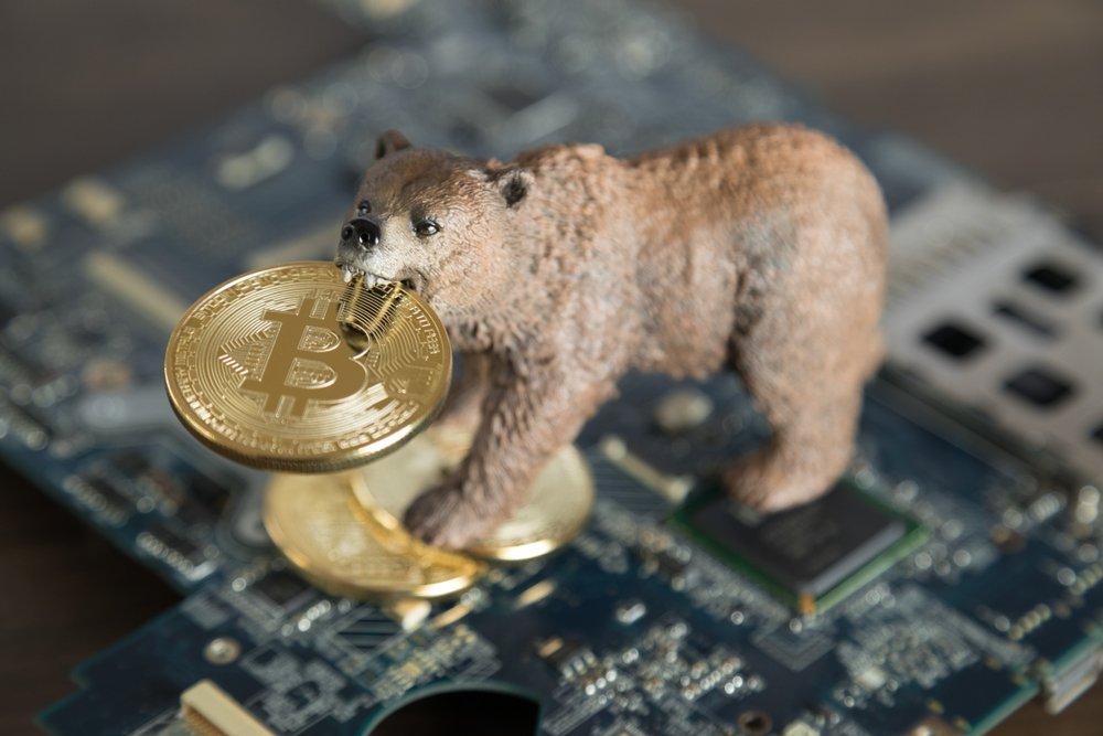 bitcoin bear concept