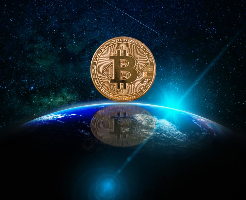 bitcoin on the earth