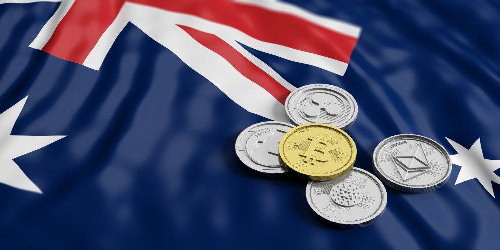 australia flag crypto