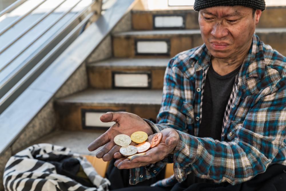 bitcoin beggar