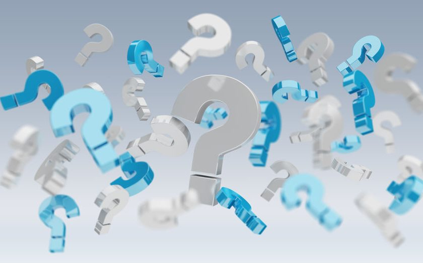 3D rendering question marks