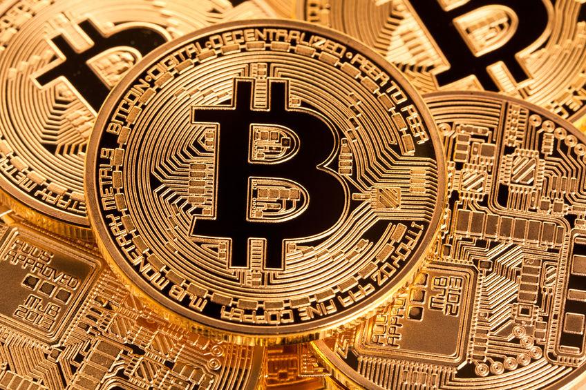 golden bitcoin coin